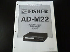 Original Service Manual Schaltplan Fisher AD-M22