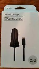 Verizon Vehicle/car charger for Ipod, Iphone/Ipad
