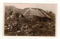 SKYE CROFTERS HOUSE OLD REAL PHOTO POSTCARD BY .MUNRO,SKYE