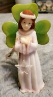 Irish Angels Collection 8 Inch Poly Resin Angel Very Good Condition with Star