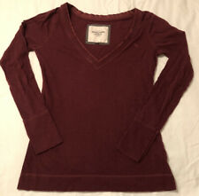 Abercrombie And Fitch Women's Long Sleeve Shirt Medium