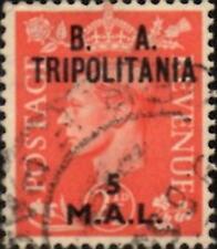 Tripolitania 1951 British Occupation 5l.on 2.5d Pale Scarlet  SG.T31 Used