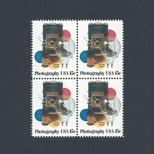 Photography's Influence on Art & Culture - Vintage Set of 4 Stamps 39 Years Old!