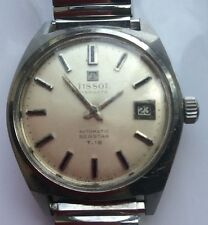 VINTAGE  TISSOT  VISODATE SEASTAR T12 AUTOMATIC WORKING