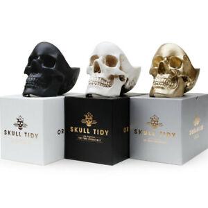 Skull Tidy Schale Suck UK Schädel Totenkopf Kleingeld- Schlüssel- Schmuck Schale