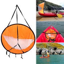 "42""Kayak Sail Board Windpaddle Paddle Wind Sailing Kit Boat Durable Clear Window"