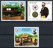 Paraguay MiNr. 3895-97 postfrisch/ MNH Rotes Kreuz/ Dunant (R5768