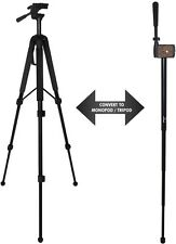 "68"" TRIPOD+70"" MONOPOD FOR CANON EOS REBEL T4 T5 FITS ALL REBEL EOS 100D 1100D"