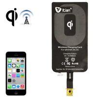 CONVERTITORE IN RICARICA WIRELESS RICEVITORE MODULO PER IPHONE 5 5s 5c Se  Apple