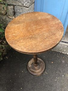 Rustic Vintage French Side Table