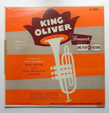 "KING OLIVER DIXIE SYNCOPATERS BRUNSWICK BL58020 1950 MONO 10"" JAZZ LP M/vG+"