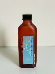 BATH & BODY WORKS NOURISHING BODY OIL W/ SHEA BUTTER / FOCUS : EUCALYPTUS + TEA