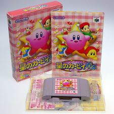 Hoshi no Kirby 64 Star Kirby N64 Nintendo 64 Japan Import Boxed Complete NTSC-J