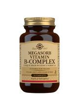 Solgar MEGASORB vitamina del complejo B. alta potencia - 50 Tabletas