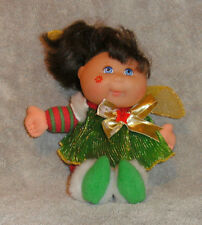 "MATTEL CPK CABBAGE PATCH KIDS XMAS ELF ANGEL DOLL 8.5"" TALL VGC CUTE"