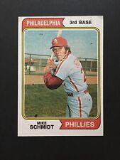 1974 Topps Set Break Mike Schmidt HOF Philadelphia Phillies #283 - NM Condition