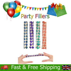 Chinese Finger Trap Fun Kids Childrens Birthday Christmas Party Bag Fillers Toys