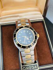 Men's Vintage Omega Seamaster Diver's Watch Gold & Steel Ref. 396.1062 In Box