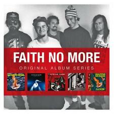FAITH NO MORE - 5CD ORIGINAL ALBUM SERIES (NEW/SEALED) The Real Thing Angel Dust