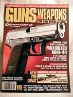 GUNS & WEAPONS FOR LAW ENFORCEMENT MAGAZINE~ SEPT 1997 ~ ROBAR H&K USP COMPACT