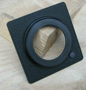 80mm 8cm Horseman VHR FA ER1  lens board panel for copal 1 42mm hole 8mm top hat