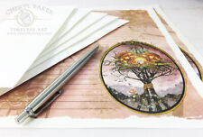 Wicked Witch Art Stationery Paper Set Stationary Writing Paper Letter Stationery