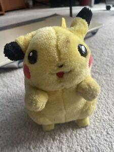 Pikachu 2004 Pokemon Electronic Talking I Choose You Plush *See Description*