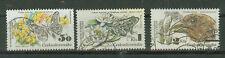 Tschechoslowakei Briefmarken 1983 Naturschutz Mi.Nr.2711-13