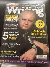 Writing Magazine September 2014 Patrick McCabe Fiction Writing Impact Agents
