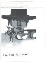 Saga #43 1 in 200 Incentive Black & White Print