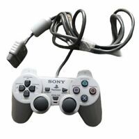 Genuine Sony Playstation 1 PS1 Official Gray Controller SCPH-1200 Dual Shock