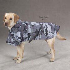 CAMOUFLAGE DOG RAIN COAT All Weather Pet Camo Jacket Guardian Gear Green & Black