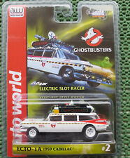 für H0 Slotcar Racing Modellbahn -  Ghostbusters mit 4 Gear Chassis in OVP