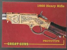 Great Guns 1993 prototype promo card 03 - 1860 Henry Rifle