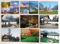 9 x JAPAN Postkarte Nippon Postcards Asien Asia Ansichtskarten Lot ungelaufen