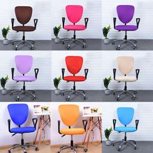 Office Computer Chair Case Spandex Split Seat Cover Anti-dust Armchair Cover UK