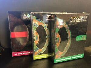 Star Trek: Deep Space Nine - COMPLETE Seasons 1,2 & 3 NEW