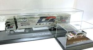 Truck AMG Mercedes D2 Privat Team +  AMG Mercedes C-Klasse Dario Franchitti 1/87