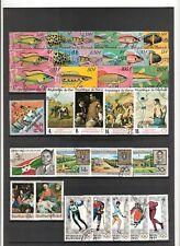 N°374,375 - BURUNDI ( 1966-70 ) - 69 timbres oblitérés