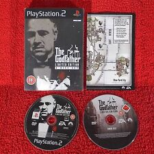 Il PADRINO LIMITED EDITION-PlayStation 2 PS2 PAL ~ ~ 18+ Steelbook 2 Disc Set