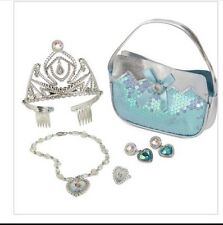 Disney Collection Frozen 5 PCS Elsa Dress Up Set Purse,Tiara,Jewelry [NIB]