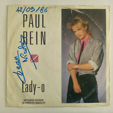 "Paul Rein ‎– Lady-O Label: Alpha Records ‎– ONEMAX 029 Format: Vinyl, 12"" Disco"