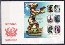 SELLOS TEMA CINE SOBRE MAT.PRIMER DIA 2000 GHANA FESTIVAL DE BERLIN HB