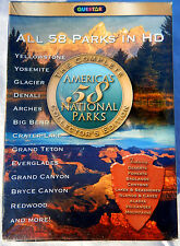SEALED Americas 58 National Parks 3 DVD Set Questar Collectors Edition 6 Hrs