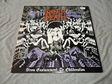 LP/ Vintage  Napalm Death  From Enslavement To...  1988  UK  Earache Records