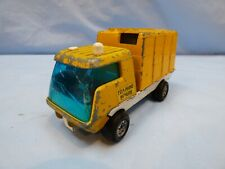 Vintage Lone Star Top Boy Telephone Repairs Truck Lorry Yellow Tilt Cab Toy