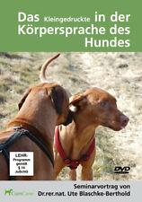 das Kleingedruckte In der Körpersprache Des Hundes 2 DVDs