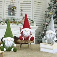 Christmas Faceless Gnome Hanging Ornament Xmas Tree 2020 Santa Doll Decoration