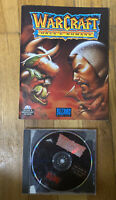 Warcraft Orcs & Humans PC CD-Rom MS DOS Macintosh Blizzard 1994 Includes Manual