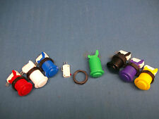 10 NEW HAPP Competition PUSH BUTTONS w /micro switch